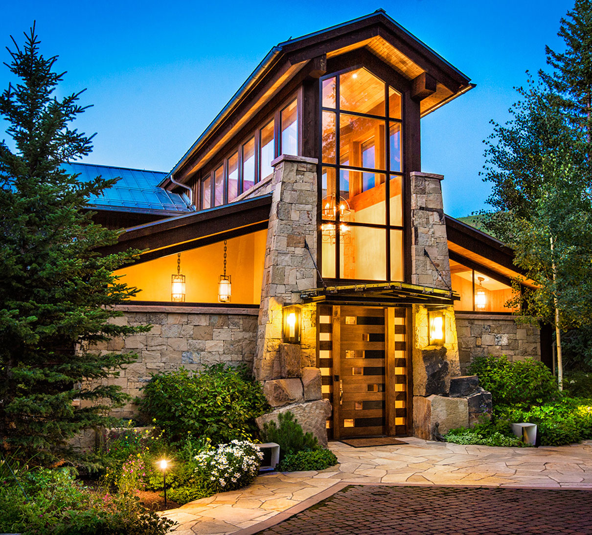 Luxury home on the Ski Slopes of Vail, Colorado