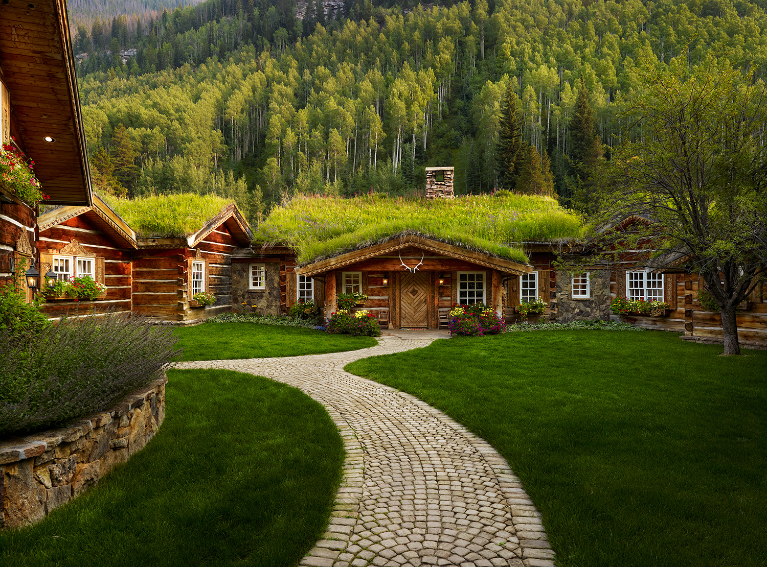 Grass Roof Cabin in Vail Colorado